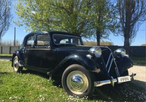 Citroën Traction 11.B. Année 1953