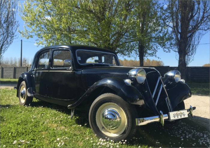 Citroën Traction 11B - 1953