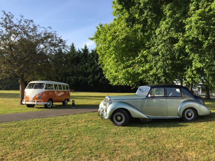 Bentley Type R 1952 et Combi T1