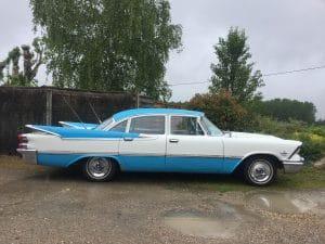 Dodge - Custom Royal - 1959 - La Voiture Fusée