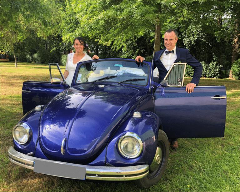 Mariage en Cox Cabriolet