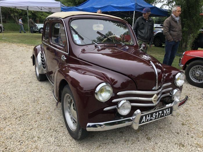 Renault 4CV découvrable - 1954