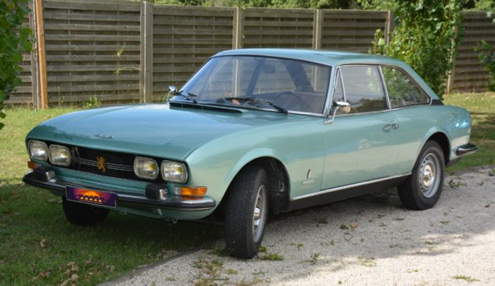 Peugeot 504 coupé - 1973