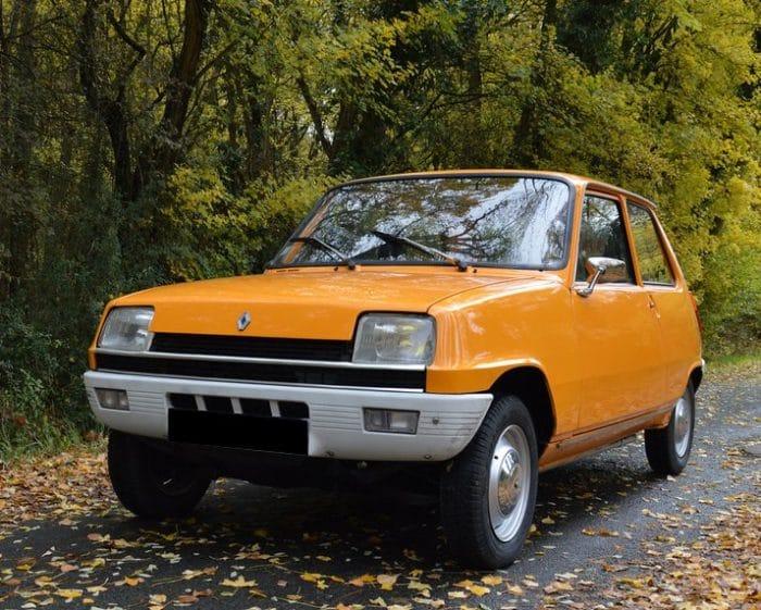Renault 5 L orange - 1975