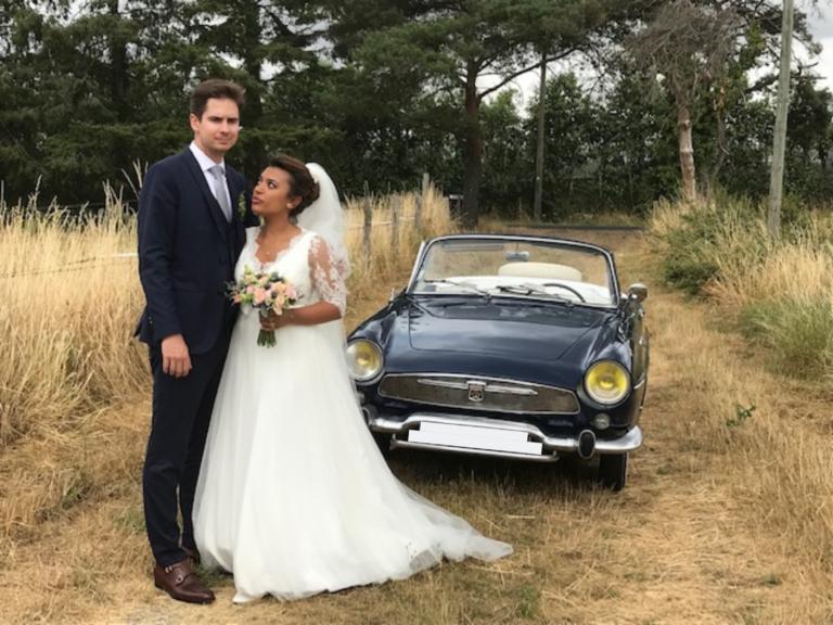 Mariage en Renault Floride